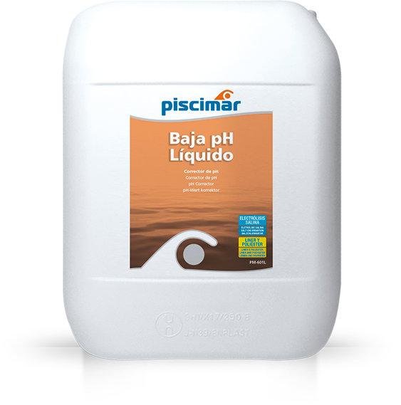 Reductor ph liquido piscimar 25 litros - Bajar ph piscina salfuman ...