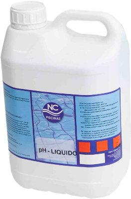 Reductor ph liquido 5l nc for Bajar ph piscina
